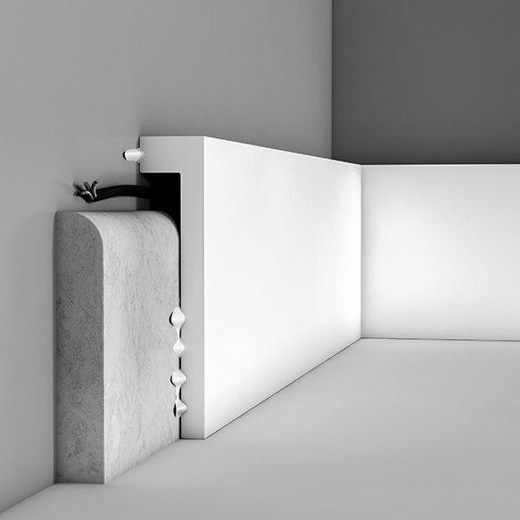 Zocalo cubre Rodapie SX171 ideal para cubrir un rodapie ya existente, fácil de colocar, ideal para reformas. Para más información visita Duran Mallorca expertos en materiales de construcción