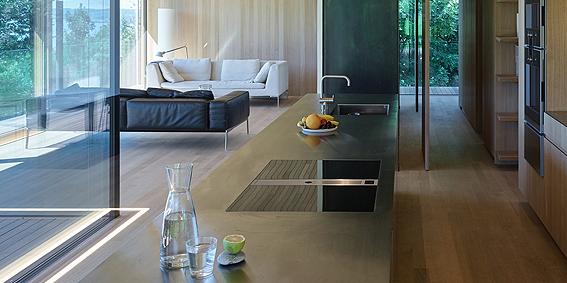 Bora Professional, ideal para el diseño una cocina moderna y eficiente. Extractores de humo profesional - Duran, expertos en cocinas en Mallorca