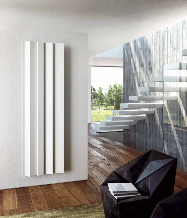 Radiadores de diseño ANTRAX IT, serie ANDROID diseño moderno en elementos de calefacción. Duran, expertos en radiadores y calefacción eficiente y de diseño