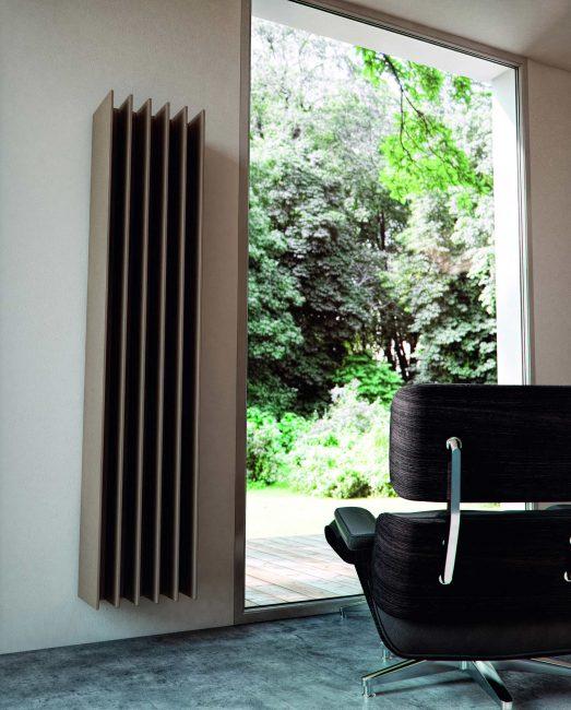 Radiadores de diseño ANTRAX IT, serie TT diseño moderno en elementos de calefacción para baños. Radiadores y calefacción de diseño y eficiente